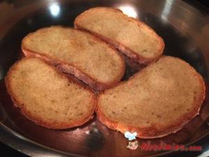 ψωμί στο τηγάνι